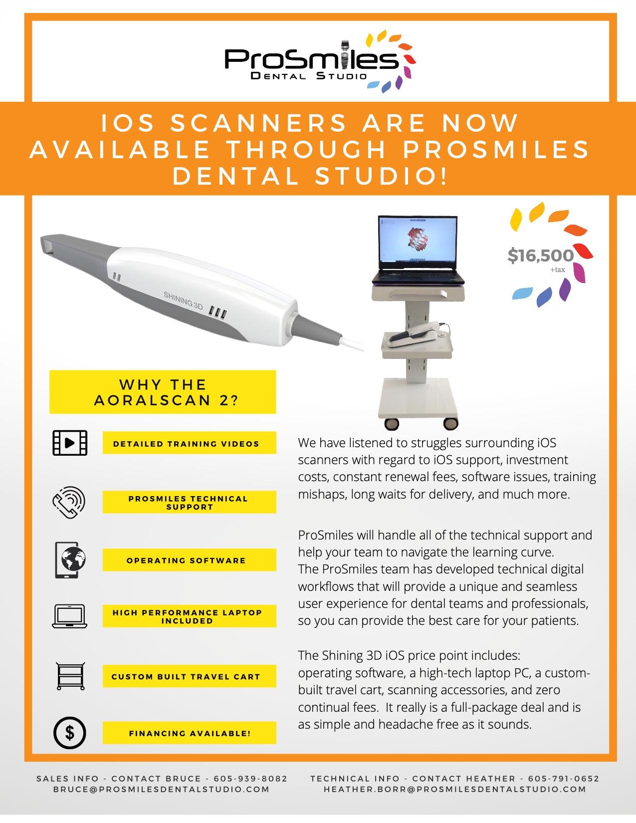 ProSmiles iOS scanner